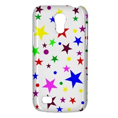 Stars Pattern Background Colorful Red Blue Pink Galaxy S4 Mini