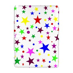 Stars Pattern Background Colorful Red Blue Pink Galaxy Note 1