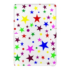 Stars Pattern Background Colorful Red Blue Pink Samsung Galaxy Tab Pro 12.2 Hardshell Case