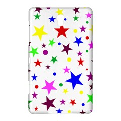 Stars Pattern Background Colorful Red Blue Pink Samsung Galaxy Tab S (8.4 ) Hardshell Case