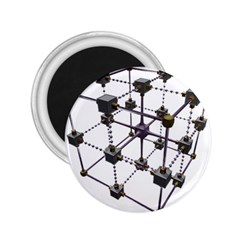 Grid Construction Structure Metal 2.25  Magnets
