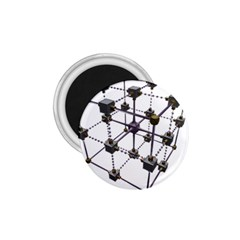 Grid Construction Structure Metal 1.75  Magnets
