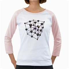 Grid Construction Structure Metal Girly Raglans