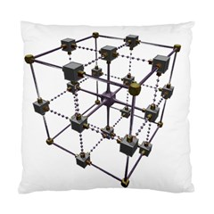 Grid Construction Structure Metal Standard Cushion Case (One Side)