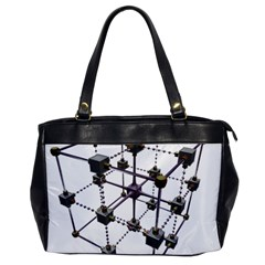 Grid Construction Structure Metal Office Handbags