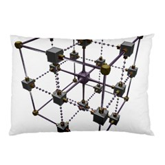 Grid Construction Structure Metal Pillow Case (two Sides)