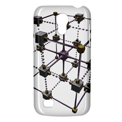 Grid Construction Structure Metal Galaxy S4 Mini