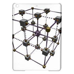 Grid Construction Structure Metal iPad Air Hardshell Cases