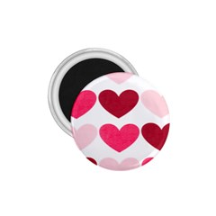 Valentine S Day Hearts 1.75  Magnets