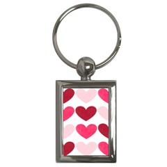 Valentine S Day Hearts Key Chains (Rectangle)