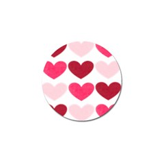 Valentine S Day Hearts Golf Ball Marker (4 pack)