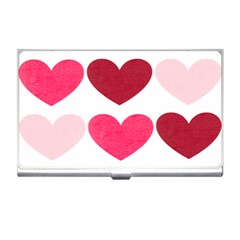Valentine S Day Hearts Business Card Holders