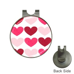 Valentine S Day Hearts Hat Clips with Golf Markers