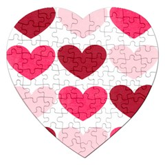 Valentine S Day Hearts Jigsaw Puzzle (Heart)