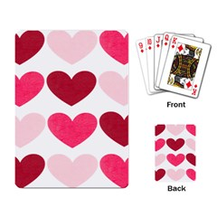 Valentine S Day Hearts Playing Card