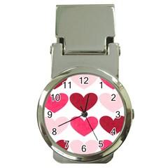 Valentine S Day Hearts Money Clip Watches
