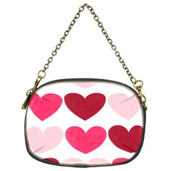 Valentine S Day Hearts Chain Purses (One Side)