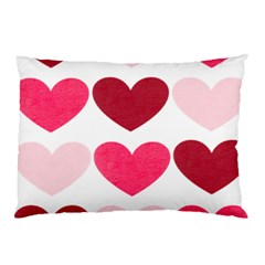 Valentine S Day Hearts Pillow Case