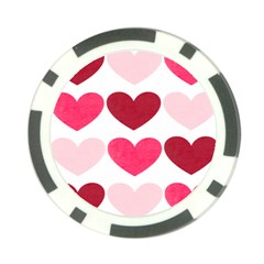 Valentine S Day Hearts Poker Chip Card Guard (10 pack)