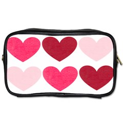 Valentine S Day Hearts Toiletries Bags