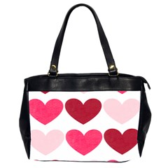 Valentine S Day Hearts Office Handbags (2 Sides)