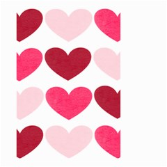 Valentine S Day Hearts Small Garden Flag (Two Sides)