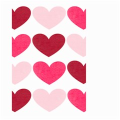 Valentine S Day Hearts Large Garden Flag (Two Sides)