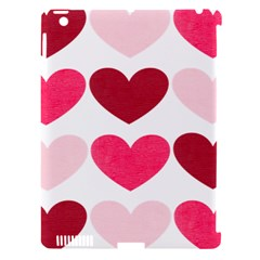 Valentine S Day Hearts Apple iPad 3/4 Hardshell Case (Compatible with Smart Cover)