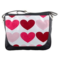 Valentine S Day Hearts Messenger Bags