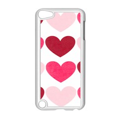 Valentine S Day Hearts Apple iPod Touch 5 Case (White)