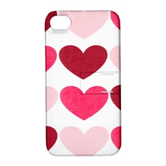 Valentine S Day Hearts Apple iPhone 4/4S Hardshell Case with Stand