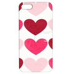 Valentine S Day Hearts Apple iPhone 5 Hardshell Case with Stand