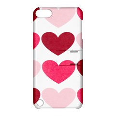 Valentine S Day Hearts Apple iPod Touch 5 Hardshell Case with Stand