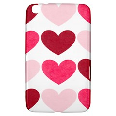 Valentine S Day Hearts Samsung Galaxy Tab 3 (8 ) T3100 Hardshell Case