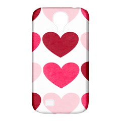 Valentine S Day Hearts Samsung Galaxy S4 Classic Hardshell Case (PC+Silicone)