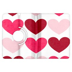 Valentine S Day Hearts Kindle Fire HDX Flip 360 Case