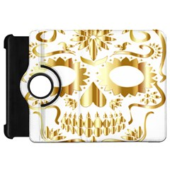 Sugar Skull Bones Calavera Ornate Kindle Fire HD 7