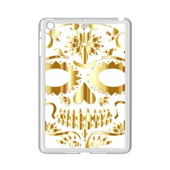 Sugar Skull Bones Calavera Ornate iPad Mini 2 Enamel Coated Cases