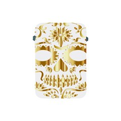Sugar Skull Bones Calavera Ornate Apple Ipad Mini Protective Soft Cases