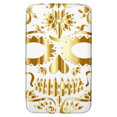 Sugar Skull Bones Calavera Ornate Samsung Galaxy Tab 3 (8 ) T3100 Hardshell Case