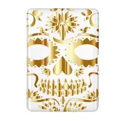 Sugar Skull Bones Calavera Ornate Samsung Galaxy Tab 2 (10.1 ) P5100 Hardshell Case