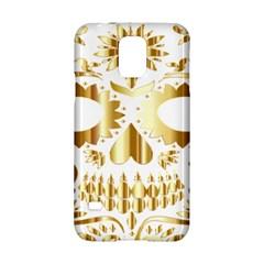 Sugar Skull Bones Calavera Ornate Samsung Galaxy S5 Hardshell Case