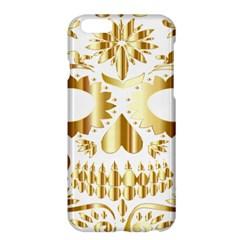 Sugar Skull Bones Calavera Ornate Apple iPhone 6 Plus/6S Plus Hardshell Case