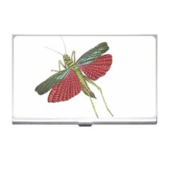 Grasshopper Insect Animal Isolated Business Card Holders