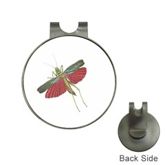 Grasshopper Insect Animal Isolated Hat Clips with Golf Markers