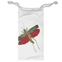 Grasshopper Insect Animal Isolated Jewelry Bag