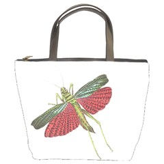 Grasshopper Insect Animal Isolated Bucket Bags
