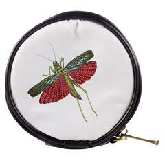 Grasshopper Insect Animal Isolated Mini Makeup Bags