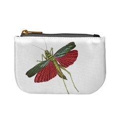 Grasshopper Insect Animal Isolated Mini Coin Purses