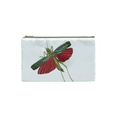 Grasshopper Insect Animal Isolated Cosmetic Bag (Small)